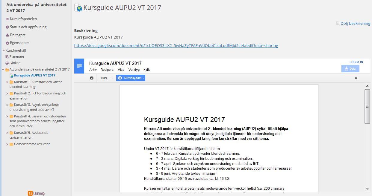 Mer Om Google Drive Karlstads Universitet - Google dokument