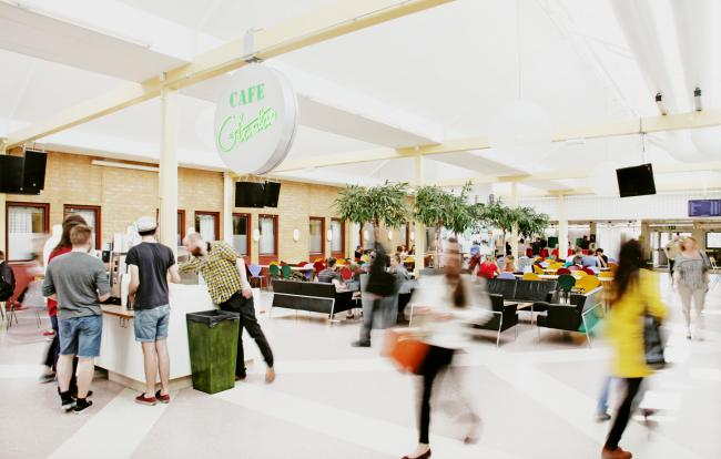 Matställen Och Caféer Karlstads Universitet