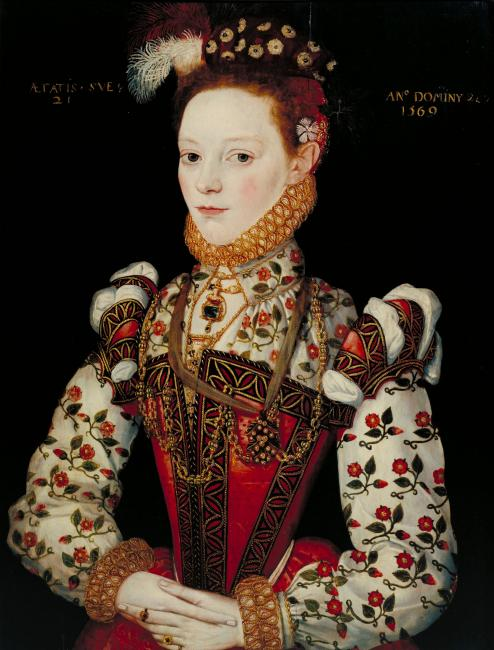 Possibly Helena Snakenborg, later Marchioness of Northampton (1569)